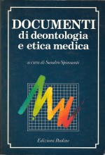 Book Cover: Documenti di deontologia e etica medica
