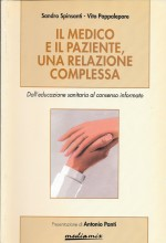 Book Cover: Il medico e il paziente, una relazione complessa