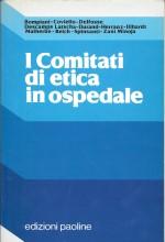 Book Cover: I comitati di etica: da dove, verso dove