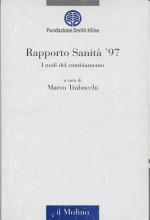 Book Cover: Rapporto sanità '97