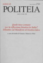 Book Cover: Bioetica laica e bioetica religiosa