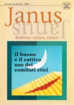 Book Cover: Janus 16 - Il buono e il cattivo uso dei comitati etici