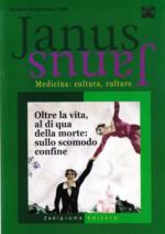 Book Cover: Janus 29 - Oltre la vita, al di qua della morte: sullo scomodo confine